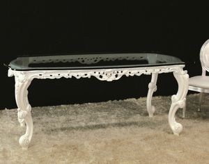 Luxury lacquered, Dining table ideal for classic luxury villas