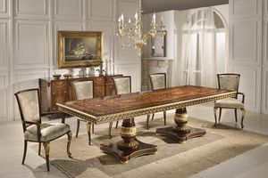 Art. 1268, Luxurious table with inlaid top