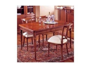 Picture of Classical rectangular table Perla, wooden tables