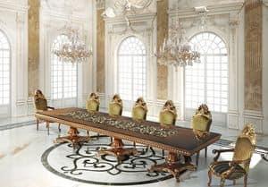 Hermitage ML/051/2, Table handmade, classic luxury style