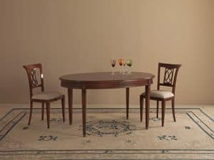 Picture of Oval table A414, classic tables