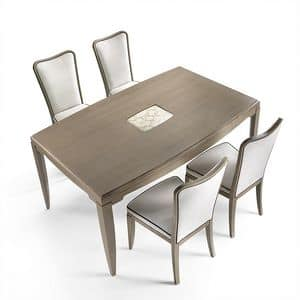 ST 312, Ash table with insert on top, classic style