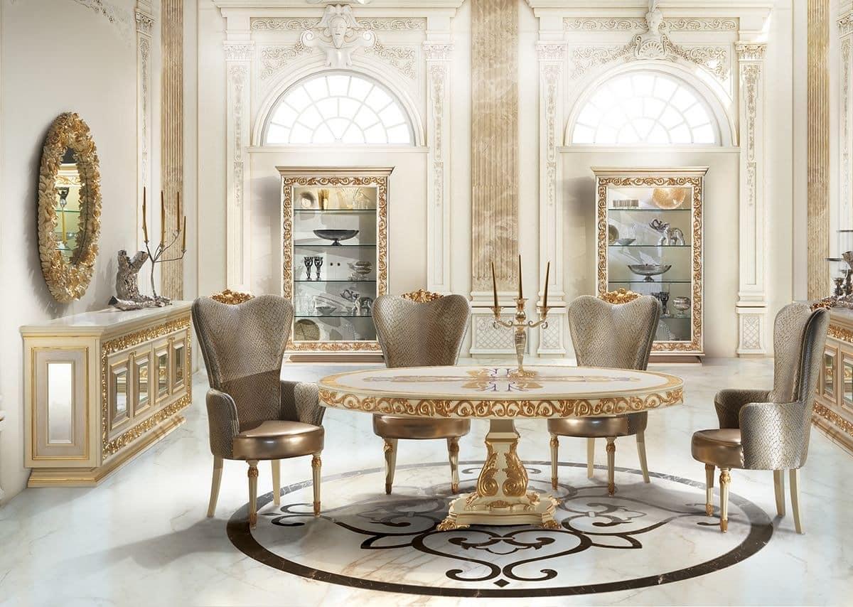 Dining Antique Table Idfdesign
