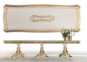 Summertime ML/01, Rectangular classic luxury table