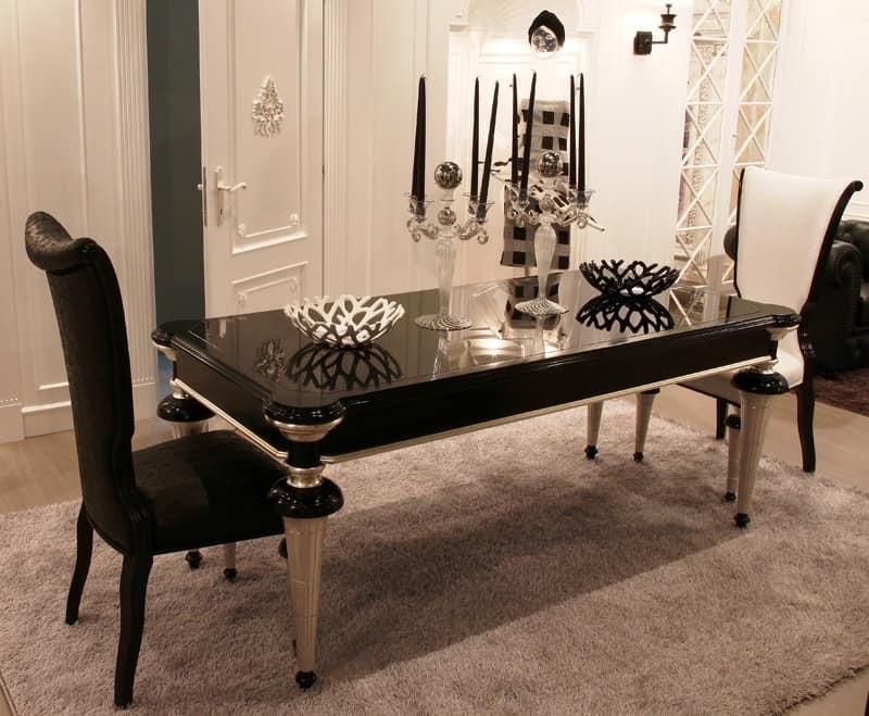 Rectangular Dining Table Contemporary Classic Idfdesign