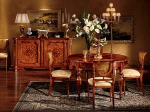 Round table for dining room