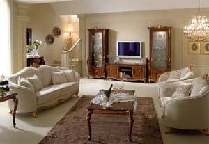 Picture of Donatello tv stand, classic tv stand