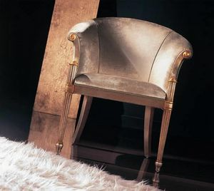 Picture of 228P high, hand-worked armchair