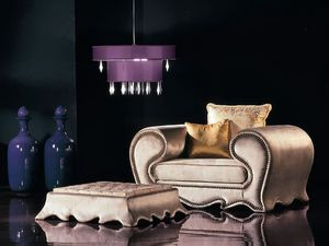 Picture of 276P 276POUFF, luxury small thrones