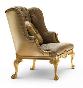 Picture of Art. 1754/A, enveloping luxury armchairs