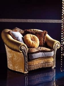 Picture of Art. 203 armchair, suitable for luxury hotel