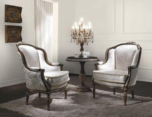 Picture of Art. 2354, decorated armchairs