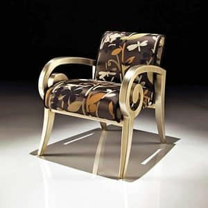 Picture of Art. 6004/A, buttoned armchair