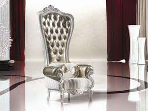 B/110/1 The Throne, Enveloping luxury armchairs for Living room