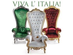 Picture of B/110/14 - B/110/6 - B/110/15 The Throne, stuffed armchairs