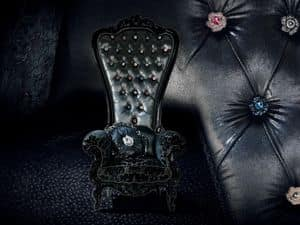 Picture of B/110/3 The Throne, stuffed armchairs