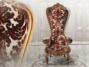 Picture of B/160/1 The Throne, elegant armchair