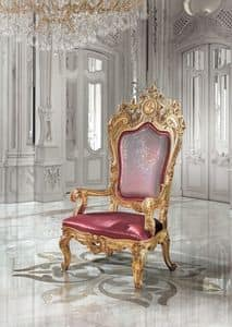 B/94/1 The Throne, Armchairs richly decorated for hotel