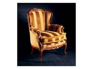 Picture of Barocco armchair 779, hand-worked armchairs