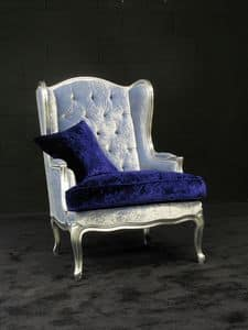 Picture of Bergere Alta 326, antique style armchair