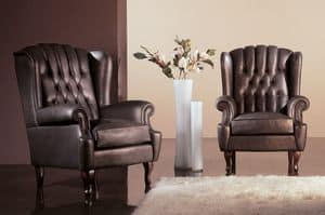 Picture of Carlotta Capitonn�, buttoned armchairs