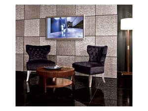 Picture of Chic Cubica Armchair, elegant armchairs