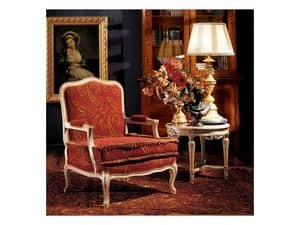 Complements armchair 806, Classical armchair for hotel