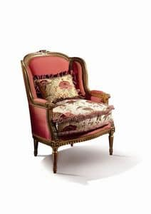 Conversation 98, Upholstered armchair in classic way
