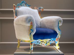 Finlandia Swirl, Colorful armchair, outlet price