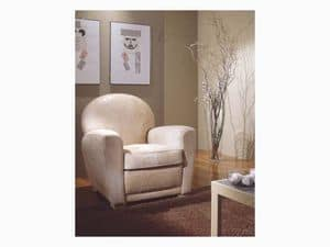 Picture of Geo, enveloping luxury armchairs