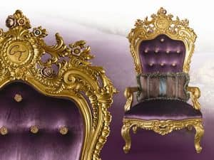 LB/94/3 Liberty, Classic throne chair with endless customizations