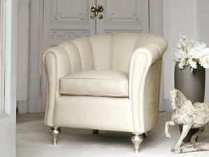 Picture of Letizia Armchair, buttoned armchairs