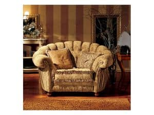 Picture of Marika armchair, decorated armchairs