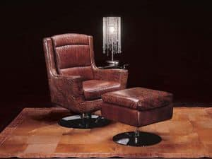 Picture of Moscou, antique style armchairs