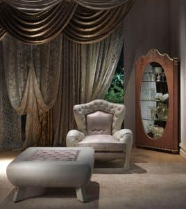 Picture of PO46 Vanity, enveloping luxury armchair