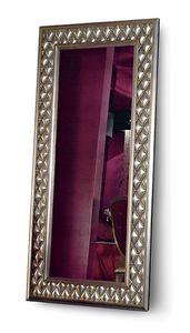 1067V2, Rectangular floor mirror capitonn�