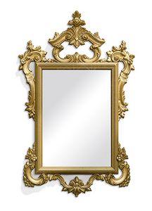 2582, Carved rectangular mirror