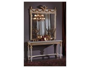 3425 MIRROR, Classic rectangular mirror, Louis XVI Style