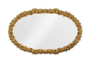 4058, Carved oval mirror