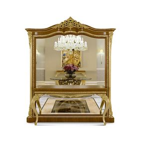 4618, Mirror with console table, luxury classic