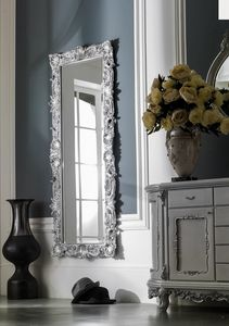 Art. 1013, Classic style mirror, hand-carved
