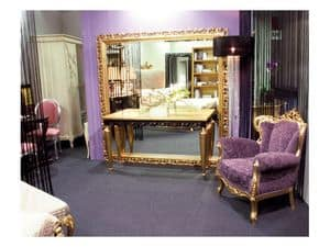 Picture of Art. 1799 Audrey, wooden mirrors