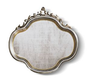 4556, Classic mirror with precious carvings
