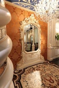 Art of Decor Mirror, Classic mirror hand carved, with gold finishes