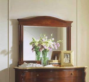 Canova mirror, Classic rectangular mirror with ground glass