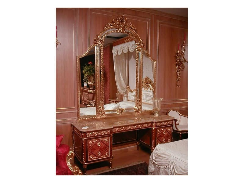 Picture of F154 Dressing table, elegant mirror