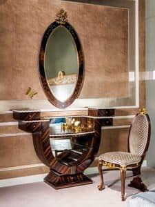 SP31, Oval ebony mirror