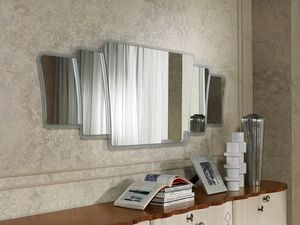 SP33 Mistral, Mirror with frame in contemporary style