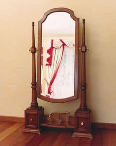 Picture of Toilette, mirrors in wood