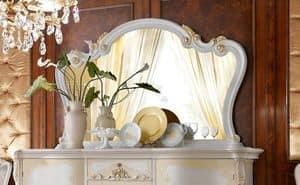 Vittoria Mirror, Mirror in classic style, for luxury villas